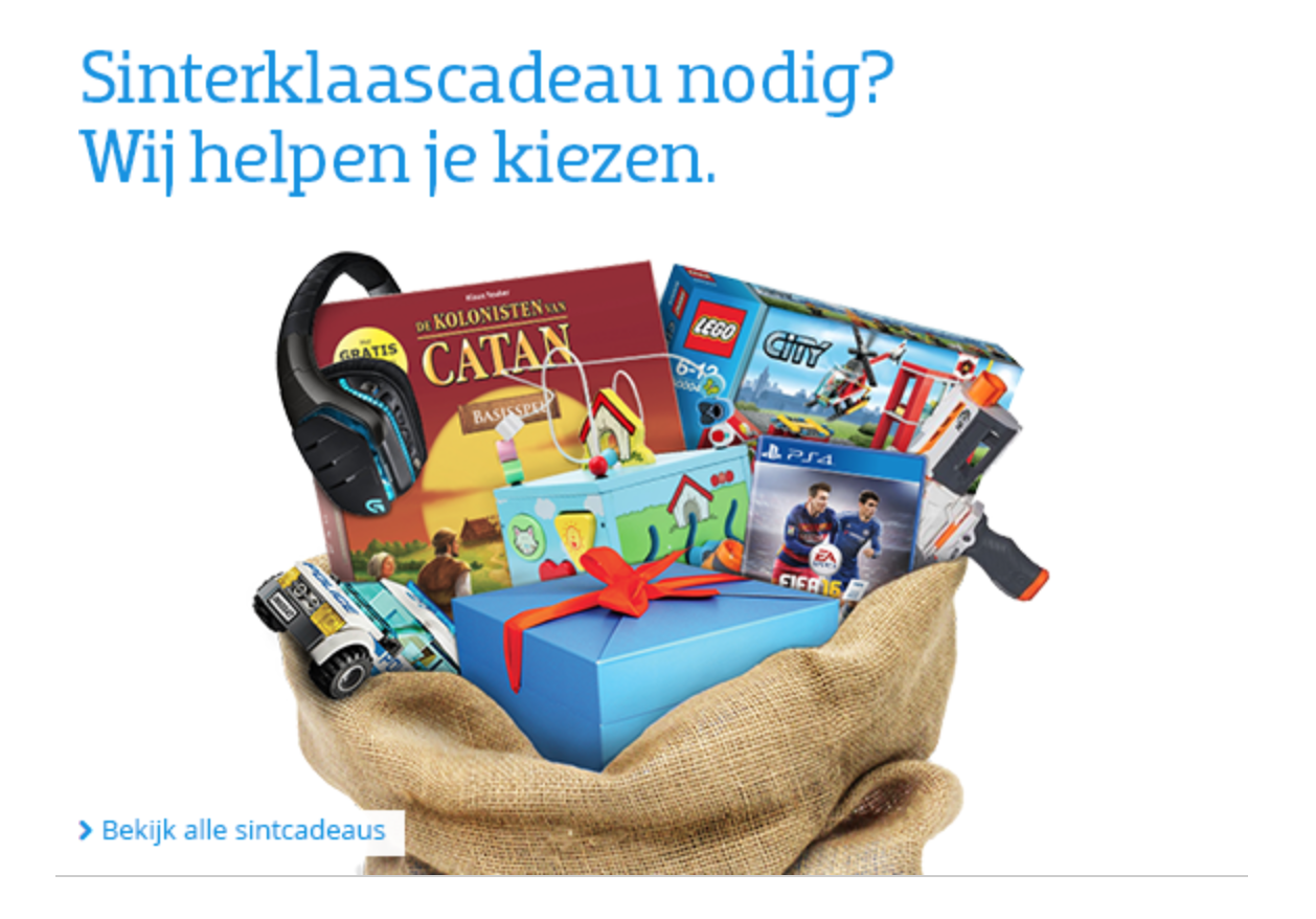 CoolBlue Sinterklaascadeau