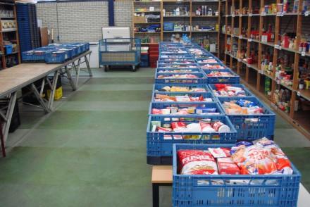 Biologische producten voor de Voedselbank blijken psychologisch een rampzalige keuze