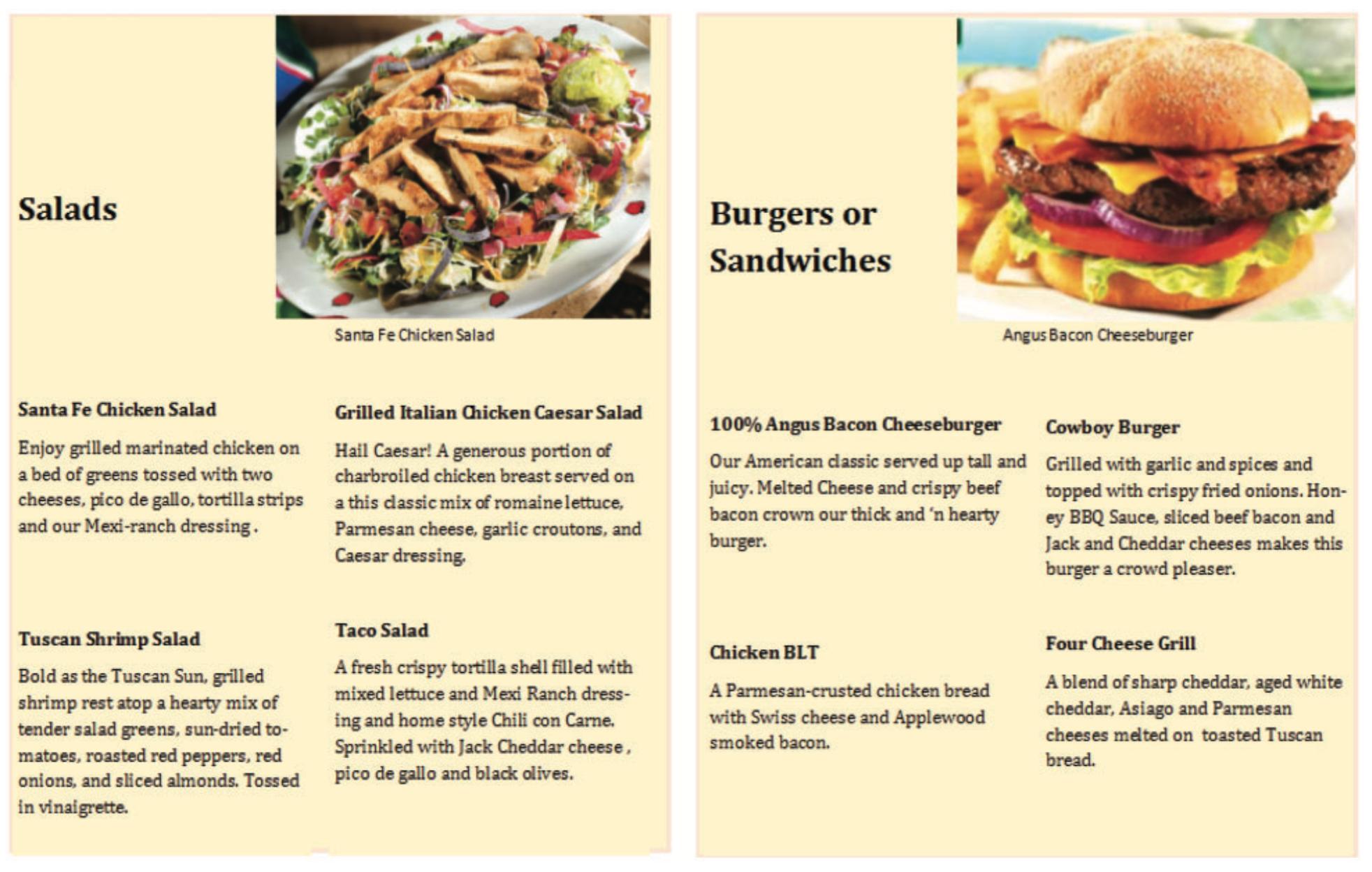 De ideale menukaart: gezonde keuzes aan de linkerzijde