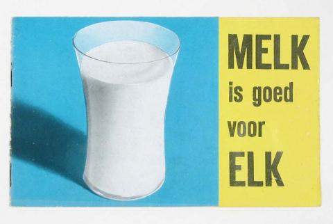 uitgaan Melk is goed voor elk