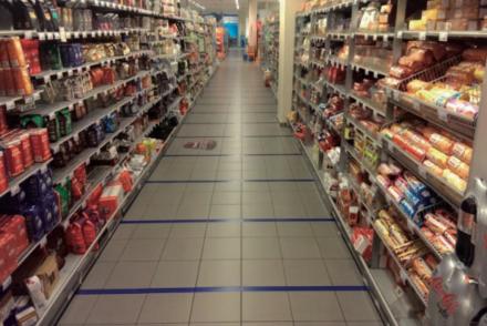 Beïnvloeding in de supermarkt: sneller of langzamer lopen
