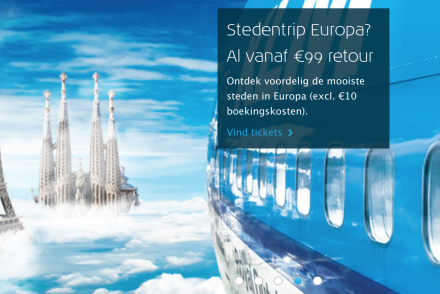 KLM stedentrip Europa