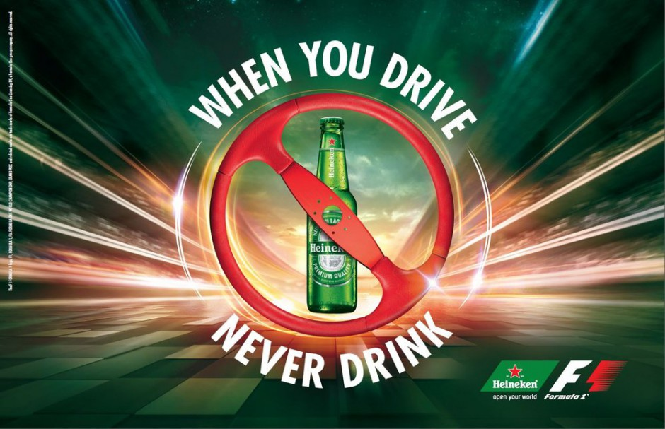 When you drive never drink Of toch wel
